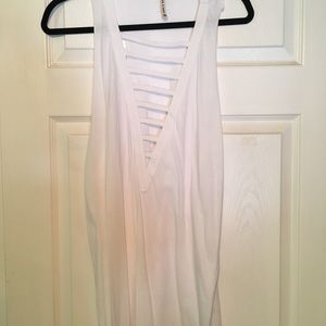 White cover dress